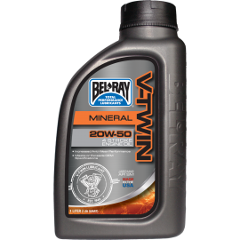 V-TWIN MINERAL ENGINE OIL 20W-50
