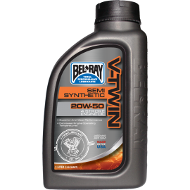 V-TWIN SEMI SYNTHETIC ENGINE OIL                                                20W-50