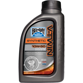 V-TWIN SYNTHETIC ENGINE OIL 10W-50