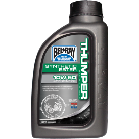 THUMPER RACING  WORKS SYNTHETIC ESTER 4T ENGINE OIL 10W-50 / 10w-60